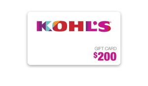 Ellen TV – Win a $200 Kohl's Gift Card