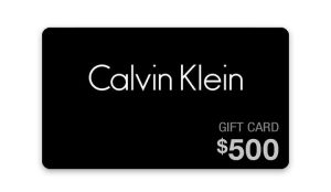 Ellen TV – Win a $500 Calvin Klein Gift Card