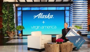 Ellen TV – Win round trip tickets to fly anywhere on Alaska Airlines and Virgin America