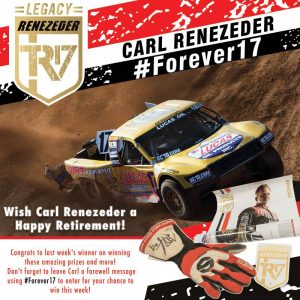Lucas Oil – Off Road Racing Series – Win 1 of 17 prizes