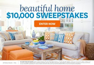 Meredith – Better Homes and Gardens – Beautiful Home – Win a $10,000 check