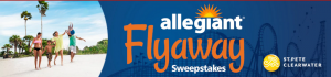 Six Flags – Allegiant Air Flyaway – Win a family vacation of 4 to St. Pete/Clearwater & 2 Six Flags Season Passes to the theme park