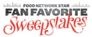 Television Food Network – Food Network Star Fan Favorite – Win 1 of 5 trips to New York City and tickets to dinner event
