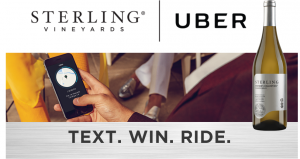 Treasury Wine Estates – Sterling Uber – Win 1 of 2,900 Uber credits valued at $10 each