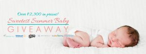 Weespring – Sweetest Summer Baby – Win a prize package valued at $2,300