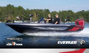 BRP – Evinrude and Mills Fleet Farm Summer on the Water – Win a grand prize of Evinrude E-Tec G2 200 HP outboard engine & Recon 985SC boat package valued at $55,000 OR 1 of 30 minor prizes