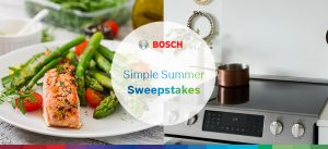 BSH HomeAppliances – 2017 Bosch Keep It Simple – Win a Bosch Benchmark Induction Slide-In Range valued at $3,599