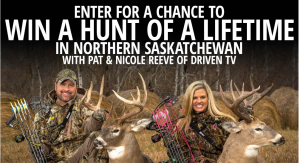 Bass Pro Shops – 2017 Fall Hunting Classic – Win a Saskatchewan Deer Hunt valued at $8,000