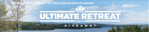 DIY Network – Win DIY Network Ultimate Retreat 2017 worth $1,114,508.54