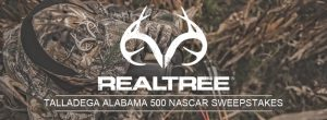 Dunham's Sports – Real Tree Talladega Alabama 500 Nascar – Win a grand prize of a trip for 2 to the Talladega Alabama 500 OR 1 of 5 minor prizes