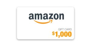 Ellen TV – Newsletter Exclusive – Win a $1,000 Amazon Gift Card