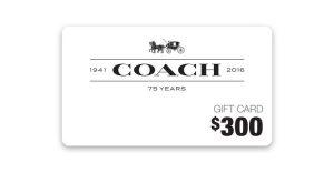Ellen TV – Win a $300 Coach Gift Card