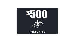 Ellen TV – Win a $500 Postmates Gift Card