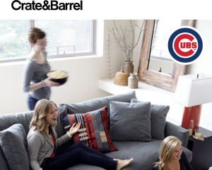 Euromarket Designs – The Crate and Barrel Fan Cave – Win a $5,000 Crate and Barrel Shop Card