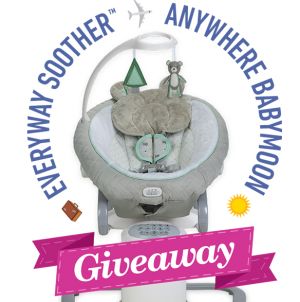Graco Children's Products – Everyway Soother Babymoon – Win a grand prize of $5,000 OR 1 of 12 Weekly prizes
