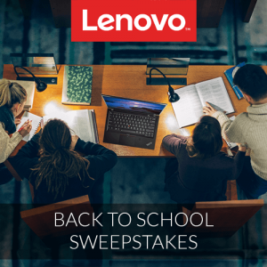 Lenovo – Back To School – Win a grand prize of a ThinkPad X1 Carbon valued at $1,956 OR 1 of 10 minor prizes.jpg