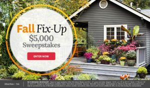 Meredith – Better Homes and Gardens – Fall Fix-Up – Win $5,000
