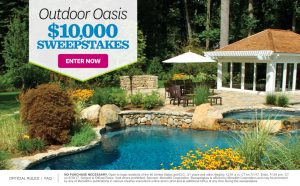 Meredith – Better Homes and Gardens – Win $10,000 for your Outdoor Oasis