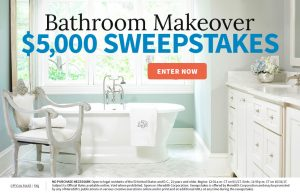 Meredith – Better Homes and Gardens – Win $5,000 for a Bathroom Makeover