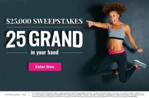 Meredith – Fitness – Win a $25,000 check