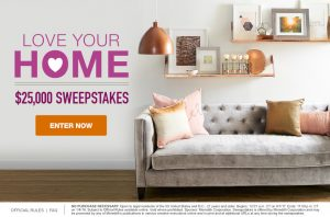 Meredith – Martha Stewart – Love Your Home – Win a $25,000 check