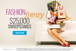Meredith – Shape Magazine – Fashion Frenzy – Win $25,000