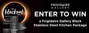 Nebraska Furniture Mart – Win a Frigidaire Gallery Black Stainless Steel Kitchen package valued at $4,469