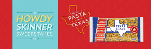 Riviana Foods – Howdy Skinner – Win a trip for 2 to Houston, Texas OR 1 of 2 minor prizes