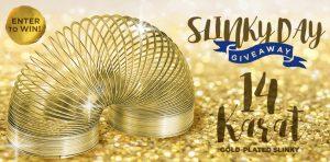 Slinky – Win a 14 Karat Gold-Plated Slinky