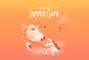 Starbucks Corporation – Starbucks for Life: Summer Edition – Win 1 of 5 grand prizes OR hundreds of other prizes