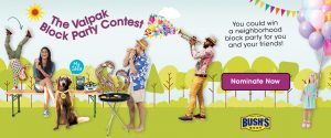 Valpak Direct Marketing Systems – Block Party – Win a Party on the Winner's block for up to 40 people valued at $6,452
