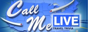 WABC-TV – Live with Kelly and Ryan – Call Me Live Travel Trivia – Win 1 of 44 Wheel Prizes valued from $3,000 – $20,000 USD OR 1 of 44 Reward Prizes valued from $500 – $1,500 USD