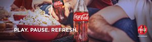 Coca-Cola – Play. Pause. Refresh. Phase 3 – Win 1 of 185 prizes including TV sound bars, Gift Cards and more
