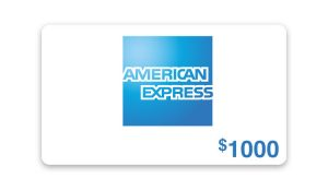 Ellen TV – Win a $1,000 American Express Gift Card
