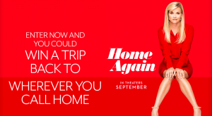 Fandango – Home Again – Win a 4-night trip for 2 valued at $4,500 USD