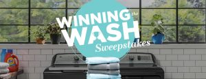 GE Appliances – Winning The Wash – Win a grand prize package valued at up to $2,898 OR 1 of 28 Daily prizes