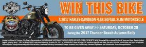 Harley-Davidson of Panama City Beach – 2017 Harley-Davidson Street Bob Rally Motorcycle Rally – Win a new 2016 Harley-Davidson FXDB Olive Green motorcycle valued at $14,099