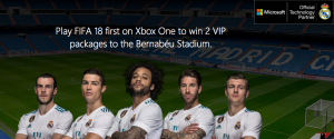 Microsoft – XBox Real Madrid – Win a trip for 2 to Madrid, Spain OR other minor prizes