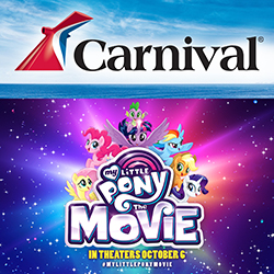 Musselman's – My Little Pony – Win a grand prize of a $2,500 Carnival Cruise Line gift card OR 1 of 600 minor prizes