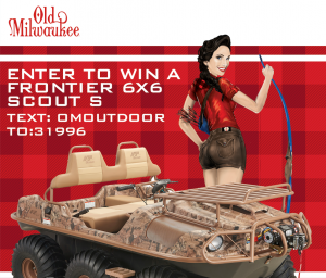 Pabst Brewing – Old Milwaukee Omoutdoor – Win an Argo Frontier 6×6 Scout S. valued at $15,000