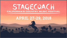 SiriusXM – Stagecoach Festival 2018 – Win a trip for 2 to Palm Springs, Ontario or Los Angeles, CA valued at $4,550