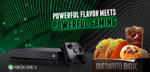 Taco Bell Corp – XBox Game – Win 1 of 5,040 Xbox One X Bundle prize packs valued at $589 each