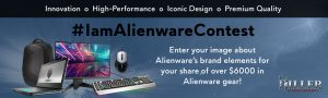 Alienware Arena – I am Alienware – Win a grand prize valued at $2,958 OR 1 of 3 minor prizes