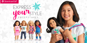 American Girl – Express Your Style – Win 1 of 50 American Girl gift cards valued at $50 each