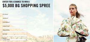 Bergdorf Goodman – Win a $5,000 Bergdorf Goodman Shopping spree