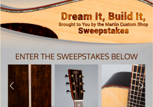 CF Martin & Co – Dream It, Build It, Brought to You by the Martin Custom Shop – Win a prize package valued at $10,189