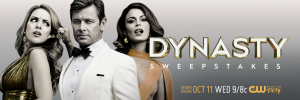 CW Network – Dynasty – Win a grand prize valued at $1,500 OR 1 of 2 minor prizes