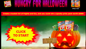 Conagra – Slim Jim Hungry for Halloween – Win 1 of 4 prize packages valued at $500 each