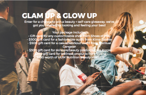 Cools – Glam Up & Glow Up – Win $2,000 in gift cards