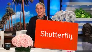 Ellen Tube – Win a $1,000 Shutterfly Gift Card